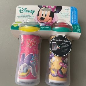 Disney Minnie Mouse Insulated Spout Sippy Cups